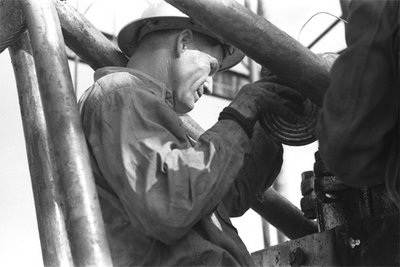 to locate this image on the American Memory website use search terms OIL, WORKER and OKLAHOMA