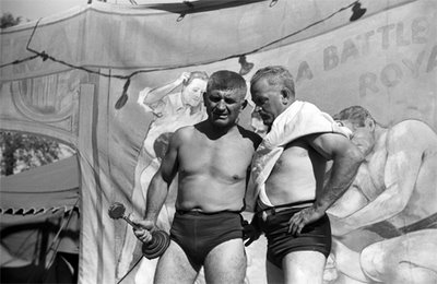 to locate this image on the American Memory website use search terms TUNBRIDGE WRESTLERS